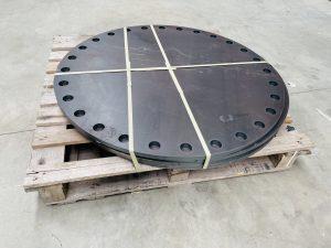 800mm NB Large Flange Plates Custom